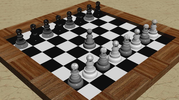 3D Modelling - Chess (Pawn) by Cheejyg