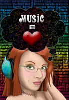 Music is My Love by Celesta1805