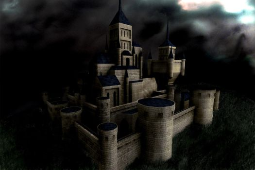 castle by cementaryGate