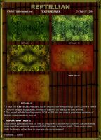 RESOURCE STOCK: REPTILLIAN TEXTURE PACK by CSuk-1T