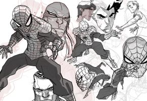 ''Comic Relief'' Spidey Preview by chriscopeland