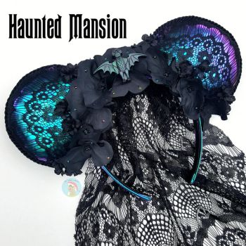 Haunted Mansion Mouse Ears by CreationsByMelissa