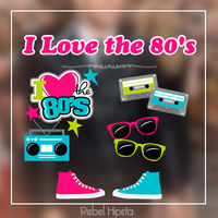 I Love Th 80's [Png's] by silly-luv