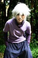 Killua, HUNTER X HUNTER by redribbon01