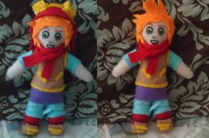Welcome To Hell plush by HourglassFairy