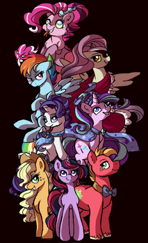 Switched: Evil seven + big mac by mississippikite