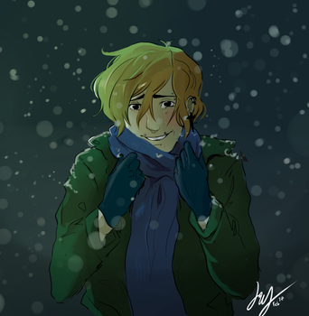 Baby it cold outside by Jinyuu