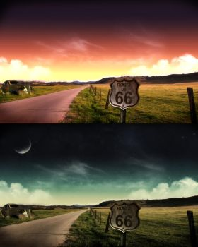 Route 66 by nuaHs