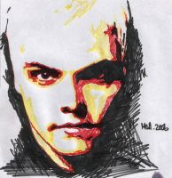 Gerard Way test by ihni