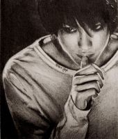 Death Note: L Lawliet by heathyap