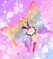 Super Sailor Moon by LadyWhiteLilly