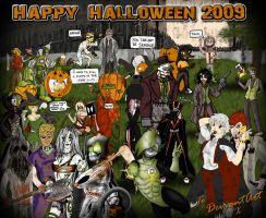 Happy Halloween 2009 by AngelCrusher