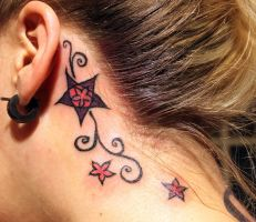 Neck tattoo 01 by SketchyFaceStuff