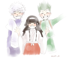 HxH: Friendship by dwainio