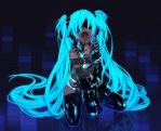 Headphones Vocaloid Bondage Hatsune Miku Latex Lon by Kittenlovesyaoi