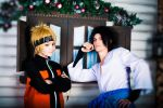 Naruto and Sasuke Christmas theme by JasDisney