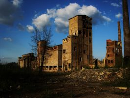 Cement Factory 2 - 2 by Banderoo