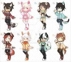 (OPEN) Adopt Batch 9 [5/8 Left] by Tomikoi