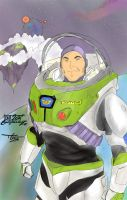 BUZZ LIGHTYEAR color by Lion542