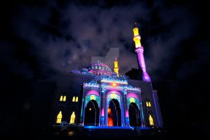 Colorful Mosque by SilentPain0