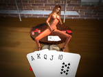 Strip Poker: About to get lucky by TalynHayabusa