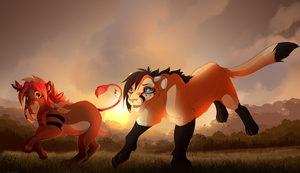 Run With Me by Kitchiki
