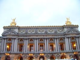 The Paris Opera House by psychoviolinist1012