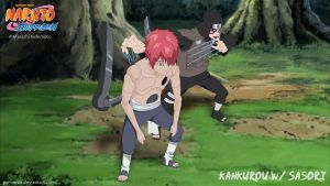 Kankurou with sasori by goriverde