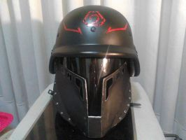 Brotherhood of Nod - Helmet Front by BioCloneX