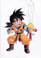Dragonball Z - Son Gohan Colour by TriiGuN