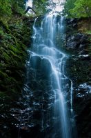 Big Basin Waterfall by Midwinters-twilight