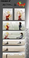 Hetalia and ATLA Crossover Part 2 by Zamarazula