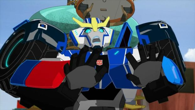 Sideswipe in Strongarm's Body by OPandTSFan