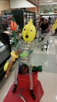 Balloon Lemongrab by DJdrummer