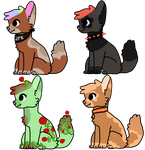 doggy adopts 2/4 by kass-the-kitten