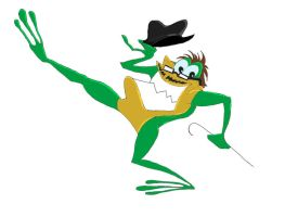 Doug Walker as Michigan J. Frog by Mad--Munchkin