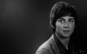 Logan Lerman 2 by Lasse17