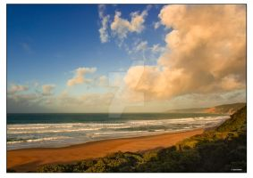 Beach view from dunes by addr010