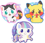 Mini Critters by Miss-Glitter