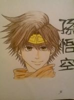 Son Goku - Saiyuki by CrystalizedBlood