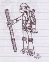Donatello by uhnevermind