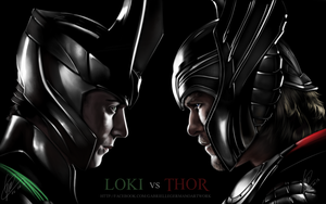Loki Vs Thor by Gabby-chan1994