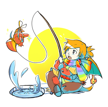 Fishing For Shiny: Clauncher! by DingDingy