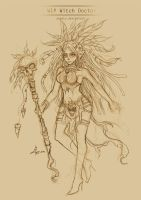 WIP Witch Doctor by zienta