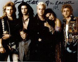 the lost boys hottie autograf by emofreakmcr