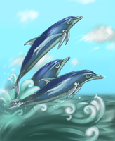 Tidal Wave by AuldBlue