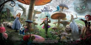 Alice in Wonderland by Natalia-Luz