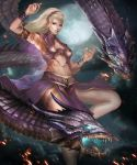 Violet Dragon by Ron-faure