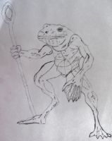 Frog freak by musicloveralex