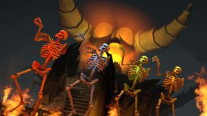 [SFM] Spooky Scary Skeletons. by Spades62